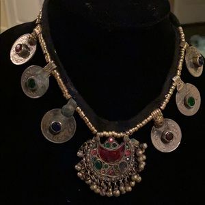 Jewelry - Turkish necklace with silver pendant